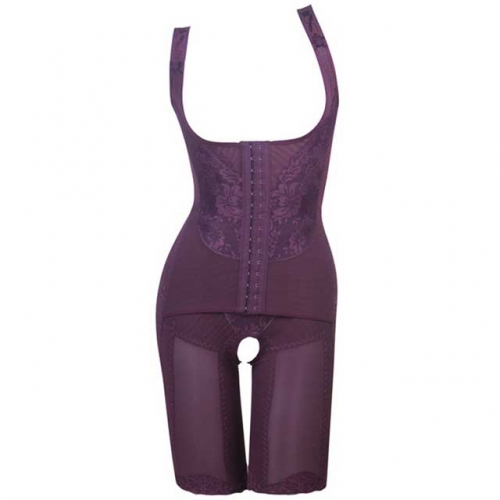 Underbust Slimming Body Shaper With Mid Thigh Shaper