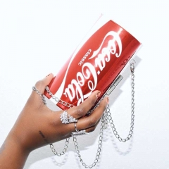 Cola Chained Crossbody Bag